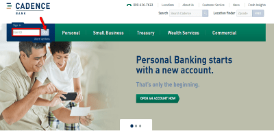 Cadence Bank Login  | How to Enroll in Online Banking Services