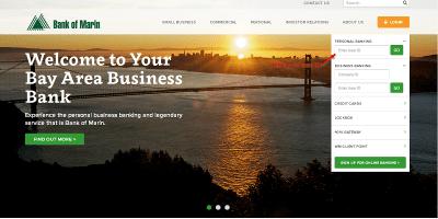 Bank of Marin | Log In or Enroll – Bank Of Marin Login