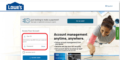 Lowes Credit Card Login | Lowes Credit Card Payment