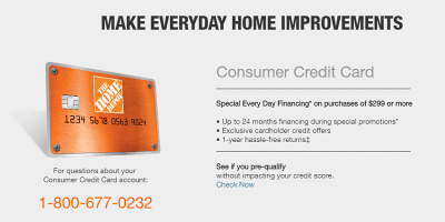 Home Depot Credit Card Benefits | Home Depot Credit Card Rewards
