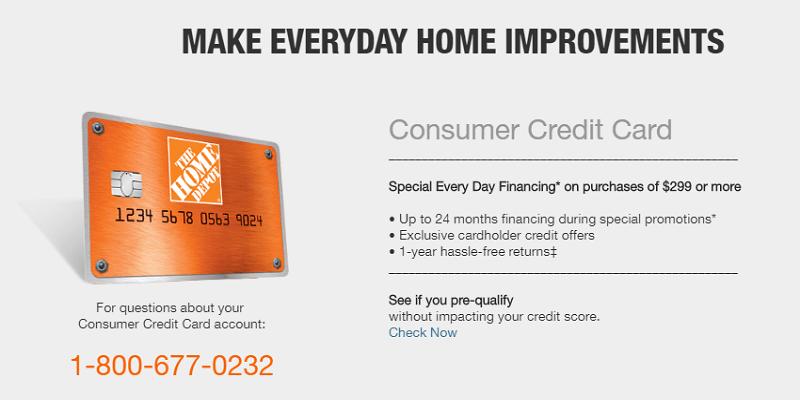 Home Depot Credit Card Benefits