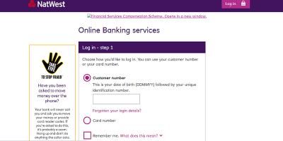 NatWest Online Banking Login | Registration & Customer Service