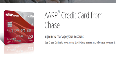 AARP Chase Login   How to Make an AARP Credit Card Payment