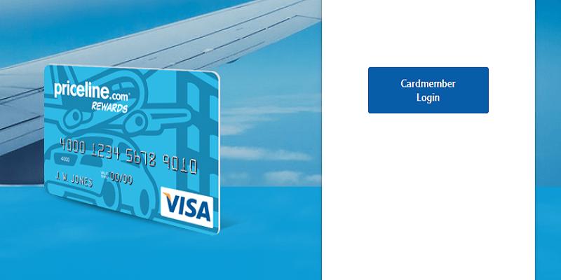 priceline rewards card login