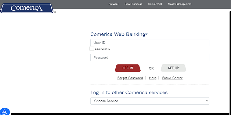 Comerica Credit Card Login
