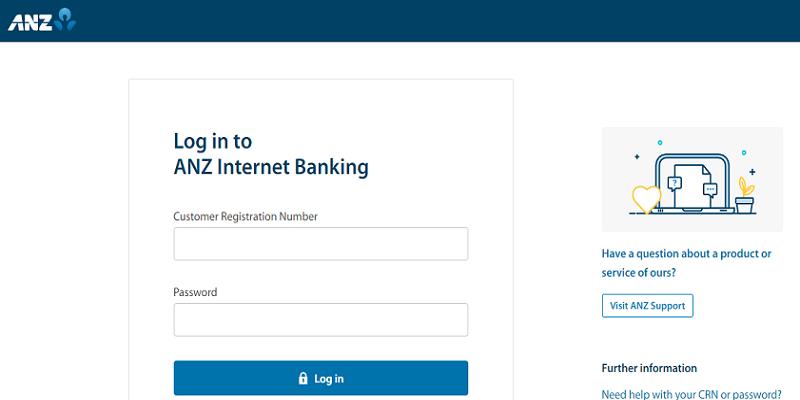 ANZ Online Banking Login