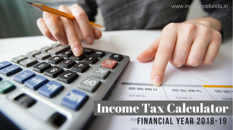 Income tax calculator online for India
