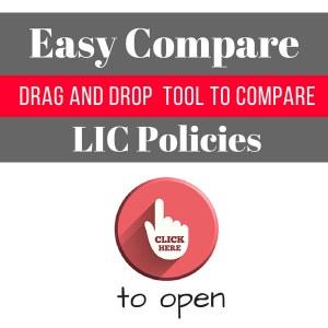 Easy compare - compare lic policies