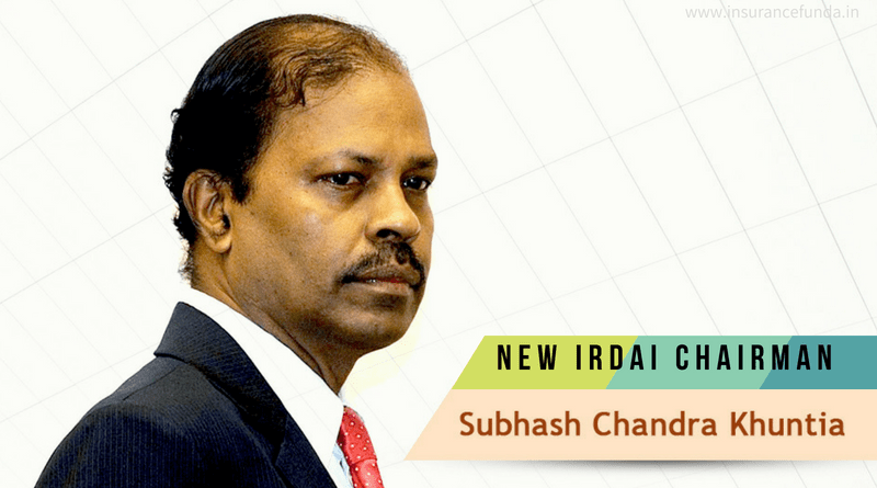 Subhash Chandra Khuntia - New IRDAI Chairman