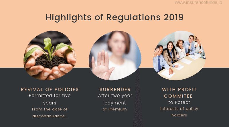 IRDA regulation 2019 highlights
