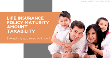 Life Insurance Maturity Amount Taxability (TDS)