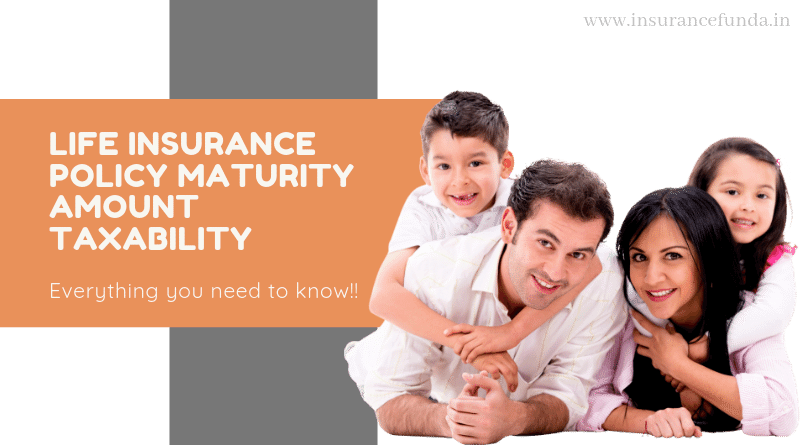 life insurance policy maturity amount taxability section10(10D) and 194 DA