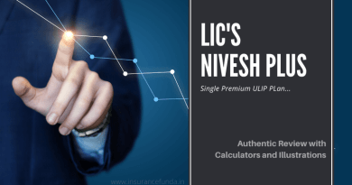LIC's Nivesh Plus (849) – Authentic review with calculators and illustrations