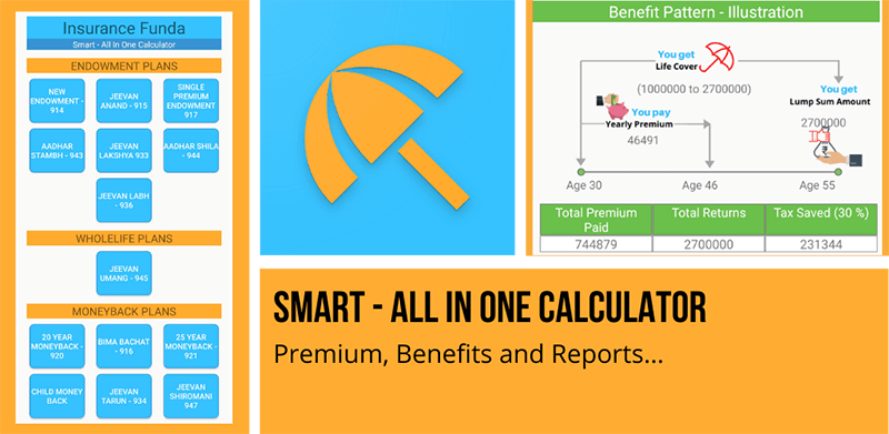 Smart – All in One Calculator (Android App) – Insurance Fund