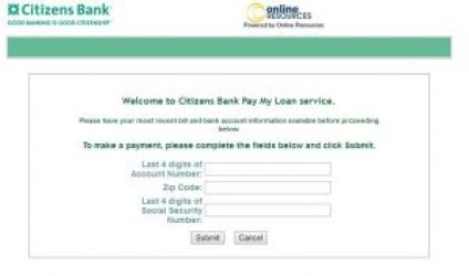 Make Loan Payment Online