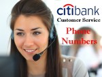 Citibank Customer Service Phone Numbers