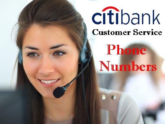 Citibank Customer Service Phone Numbers