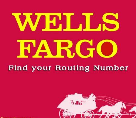 Wells Fargo Routing Numbers
