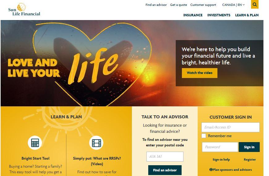 Sun Life Financial Claim