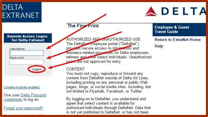 Delta Employee Portal Login