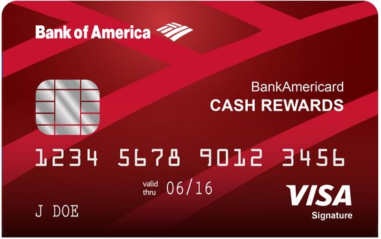 Bank of America Credit Card Application