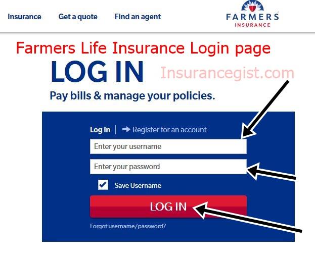 Farmers Life Insurance Login - www.farmers.com/login