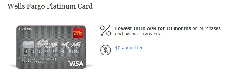 Wells Fargo Platinum Visa Login