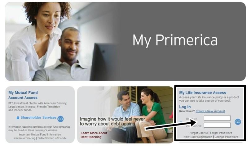 Primerica Life Insurance Login