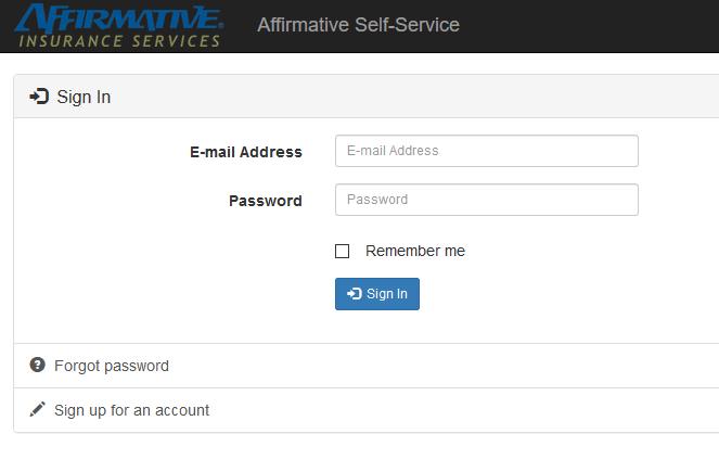 Affirmative Auto Insurance Login