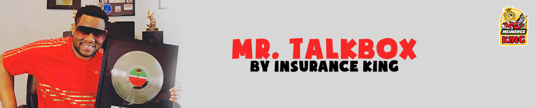 Insurance King is sponsoring covers of songs with Mr. Talkbox