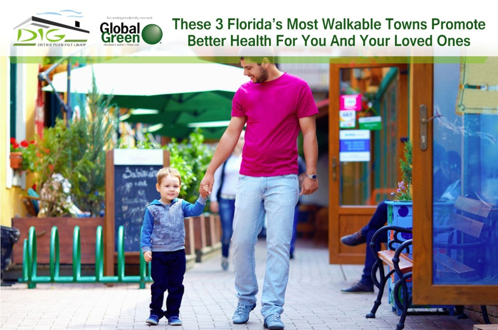 These 3 Florida's Most Walkable Towns Promote Better Health For You And Your Loved Ones