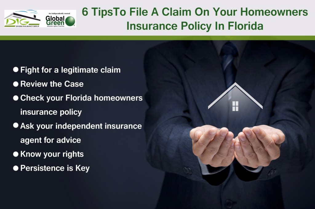 tips to file a claim
