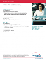 Flyer – Workplace Violence and Internet Liability Sell Sheet