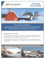 Loss Control Flyer – Preventing Roof Collapse