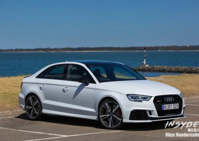 Photo Shoot: Audi RS3