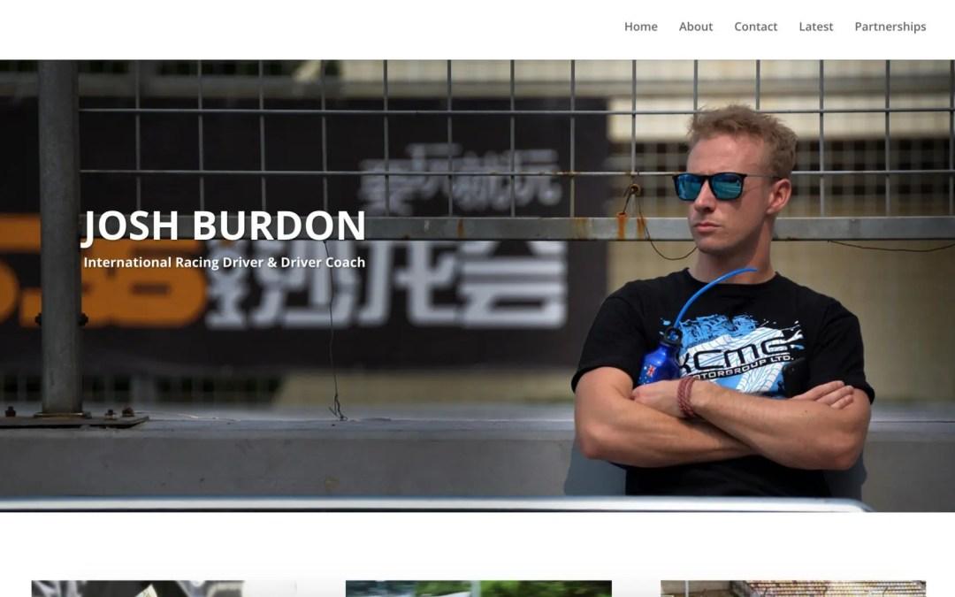 Web & Social: Josh Burdon's Website