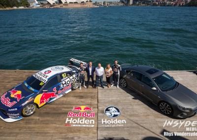 Red Bull Holden Launch on Sydney Harbour