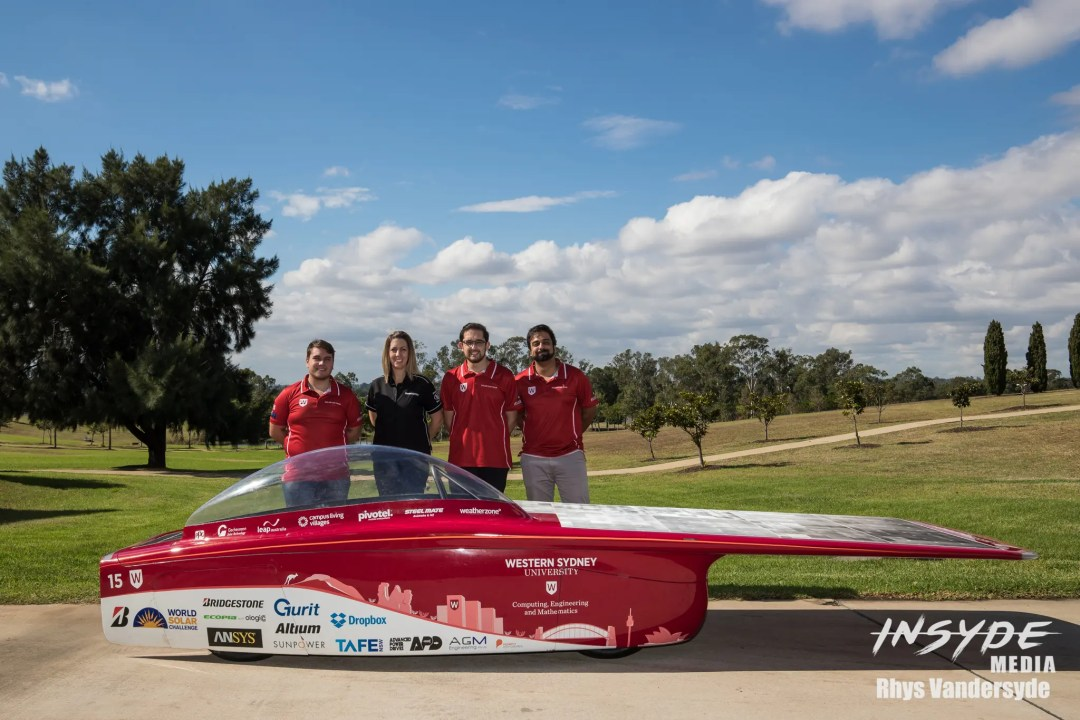 Bridgestone Western Sydney Solar Team Photo Shoot