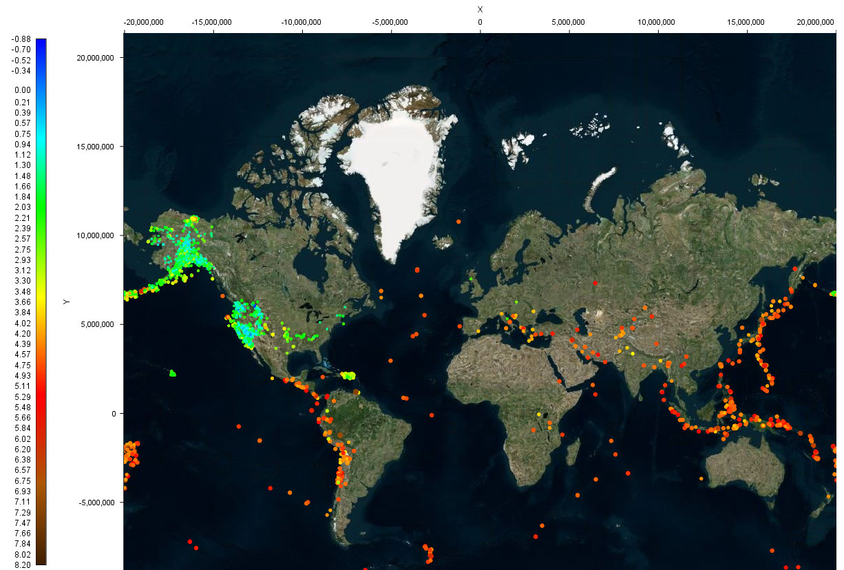 Using Intviewer To Visualize Earthquakes And Other Seismic