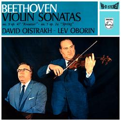 Beethoven – Violin Sonatas No's 5 & 9
