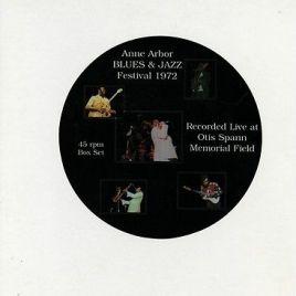 Anne Arbor Blues & Jazz Festival 1972 45rpm Box Set