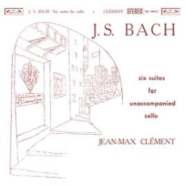 J S Bach : six suites for unaccompanied cello