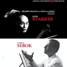 Brahms Sonatas for Cello and Piano : Janos Starker/Gyorgy Sebok
