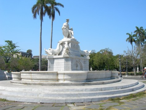 One of the symbols of Havana, The Fountain of the Indian, or the Noble Havana, 1835