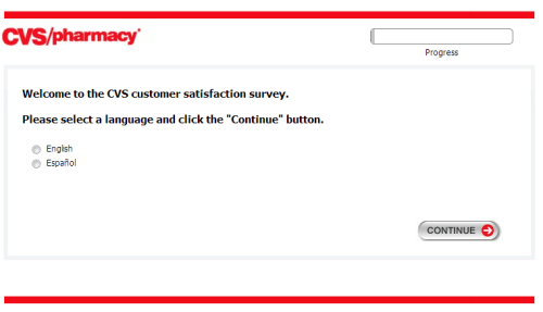 CVS Survey homepage