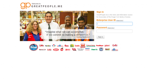 greatpeople me secure web Login guide