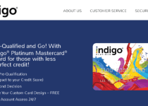 indigo credit card login Details
