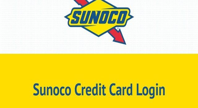 Sunoco Credit Card Login