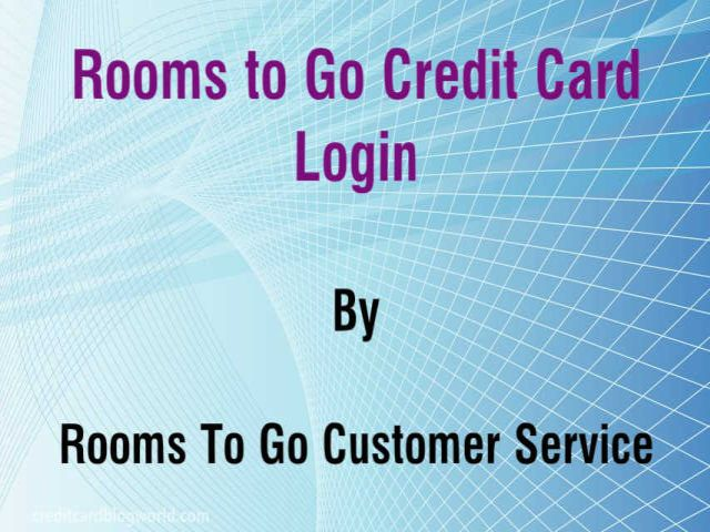 Rooms To Go Credit Card Login Pay Your Bill Online