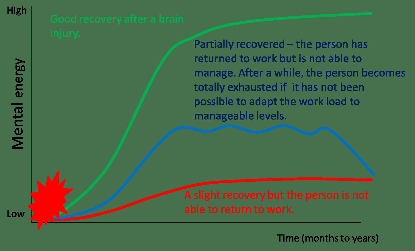 Long Lasting Mental Fatigue After Traumatic Brain Injury